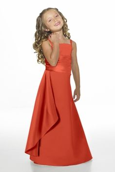 Junior Bridesmaid Dresses, Flower Girl, Special Occasion Dresses by Alexia Designs in Burnt Orange