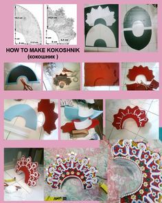 How to make kokoshnik by seawaterwitch.deviantart.com on @deviantART