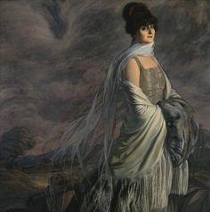Ignacio Zuloaga (Spanish, 1870-1945). Retrato de la señora Atucha