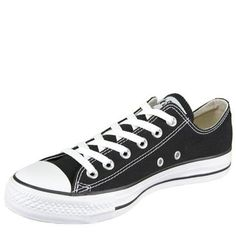 Converse Chuck Taylor All Star Shoes (M9166) Low top in Black $39.99