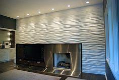 ModularArts Dune Media Room Fireplace