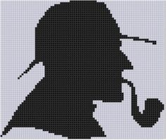 Detective Cross Stitch Pattern