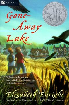 Elizabeth Enright was a genius! Gone-Away Lake is a marvelous 1950's adventure story about two cousins who discover a deserted town during summer vacation. Mary Grand-Pre, who illustrated Harry Potter, did the cover art to complement the original inside illustrations by Beth and Joe Krush (they also illustrated The Borrowers)