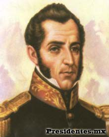 Decimo Presidente Mexicano Miguel Barragan, de 1835-1836.