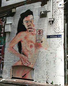 Lushsux, Hosier Lane, Melbourne, Australia, 2016