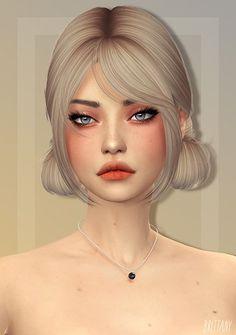 Sims 4 Mods Clothes, Sims 4 Clothing, Sims 4 Nails, Tumblr Sims 4, Sims 4 Hair Male, The Sims 4 Skin, Mod Hair, The Sims 4 Cabelos, Pelo Sims