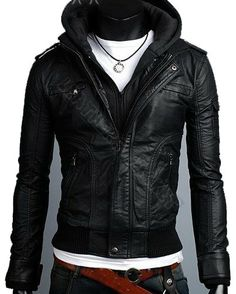 Hey, I found this really awesome Etsy listing at http://www.etsy.com/listing/150407568/men-handmade-black-hooded-biker-leather