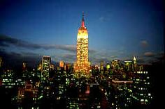 Go to the observation deck of the Empire State Building (New York, New York). I went here on October 15 2012 with Carson.