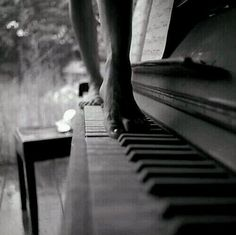Music and sensuality. Art photo with theme The woman and the piano. Music, beauty and sensuality are Photographie Portrait Inspiration, Piano Keys, Art Music, Dance Music, Black And White Photography, Cello, Art Photography, In This Moment, My Love