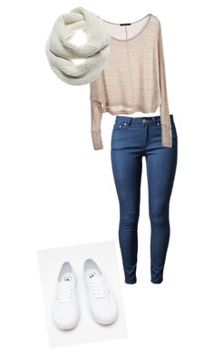 """""""christmas outfit"""" by princess42297 ❤ liked on Polyvore featuring Acne Studios, Brandy Melville, Vans and J Brand"""