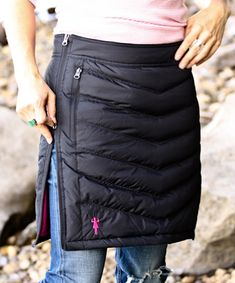 minne-skirt, down-insulated winter skirt | You Just Got Chicked