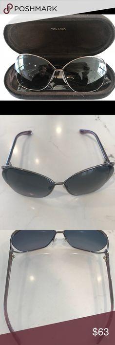 4c9f0ec6343 Tom Ford Sunglasses Tom Ford Miranda FT0130 Sunglasses in Gunmetal. Like  new