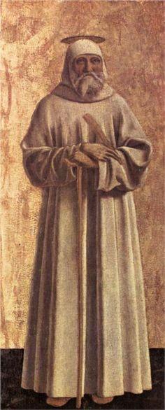 Piero della Francesca, St. Benedict, c. mid-15th century