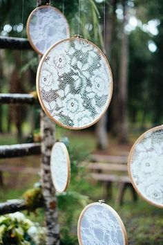 Share Your Reclaimed Yard Sale and Thrift store Wedding Crafts! (Pics) Wed Share Your Reclaimed Yard Sale and Thrift store Wedding Crafts! Ceremony Backdrop, Ceremony Decorations, Wedding Ceremony, Backdrop Wedding, Diy Wedding Dress, Diy Dress, Wedding Lace, Rustic Wedding, Recycle Your Wedding