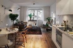 Piccoli spazi, una casa in bianco
