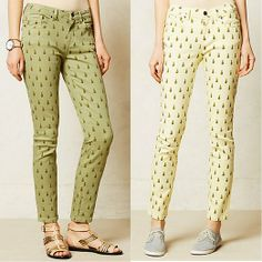 Rank & Style Top Ten Lists | Labdip Lana Skinny Jeans #rankandstyle http://www.rankandstyle.com/top-10-list/best-pineapple-printed-fashion/labdip-lana-skinny-jeans-2/