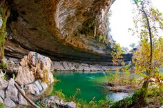 Hamilton Pool Nature Preserve (Dripping Springs, 37 miles on Highway 71 west of Austin, Texas) is one of the most beautiful places in the world. Seriously - this place is SO close to me and I have never been! Hamilton Pool Preserve, Texas Travel, Beautiful Places In The World, Places To See, Waterfall, Explore, Nature, Outdoor, Dripping Springs