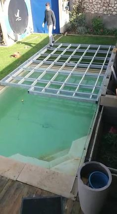 Small Backyard Pools, Backyard Pool Designs, Swimming Pools Backyard, Pool Decks, Outdoor Pool, Pvc Pool, Inground Pool Diy, Mini Swimming Pool, Swiming Pool
