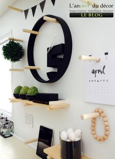 AVDD - DIY pegboard right view - This would make a cute feature display, too!