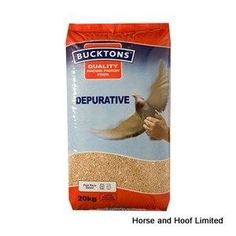 Bucktons Depurative Pigeon Feed 20kg Bucktons Depurative is a post race detox that has been designed to reduce the toxins that have built up during a race.