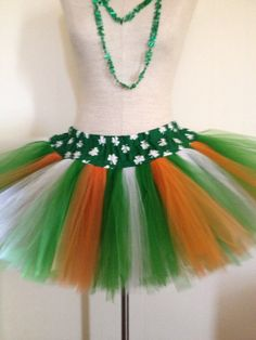 Adult Small Shamrock St. Patrick's Day Irish by lookatmybooties, $35.00