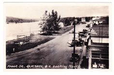 BC – QUESNEL, Front Street, Cowans Store, Gowen c.1939 RPPC