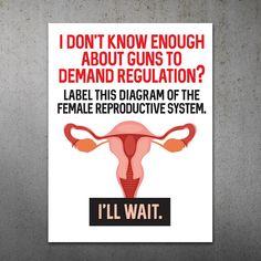 Gun Regulation PRINTABLE Protest Poster | Stop Gun Violence, March for our Lives Protest Sign