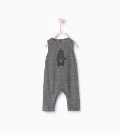 ZARA - KIDS - Bear romper suit
