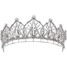 PLATINUM GUILD INTERNATIONAL REVEALS A TIARA FIT FOR A PRINCESS ❤ liked on Polyvore featuring accessories, hair accessories, crowns, tiara, jewelry, medieval, crown tiara, tiara crown and platinum crown
