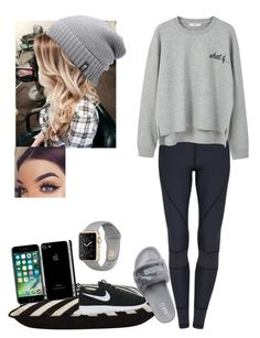 """""""Untitled #22"""" by abbiemiller-1 on Polyvore featuring MANGO, Jayson Home, Puma, The North Face and NIKE"""