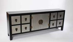 Mueble japones dm tv 8cajones 2puertas