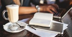 coffee shop and laptop - Google Search