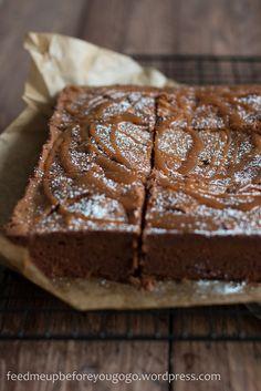 Salted Caramel Brownies Jamie Oliver Rezept-2