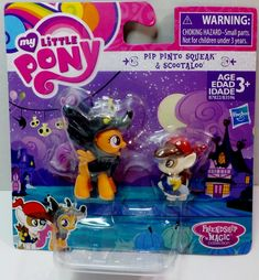 My Little Pony Nightmare Night Collection Pip Pinto Squeak Scootaloo My Little Pony Backpack, Nightmare Night, Kids Living Rooms, Mark Thomas, My Little Pony Twilight, Unicorn Rooms, My Little Pony Merchandise, Barbie Toys, Childrens Beds