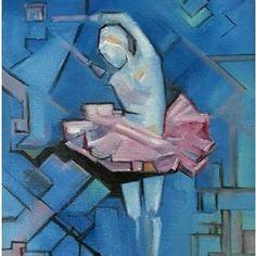 Balerina on my canvas By Jer
