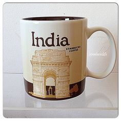 Starbucks Mugs | India. Mug no. 258. #starbucks #starbuckscitymug #india | Flickr ...
