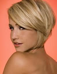 Josh has been asking me for years to cut my hair short. This is a really cute cut that I might actually consider...