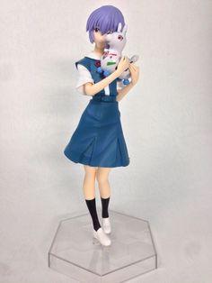 Evangelion Ayanami Rei Premium Figure RODY PVC Figure Used