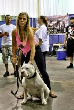 XXL Blue Pitbulls Biggest Pitbull Puppies Kennel with pits girls fashion model Big Pitbull, Pitbull Breeders, Bully Dog, Bully Breed, Puppy Kennel, Pit Bull Love, Bull Terrier Dog, Girl And Dog, Love Pet