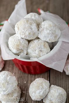 Russian Tea Cakes - my mom- mom gave me recipe many years ago- the best makes me feel good!! Miss her