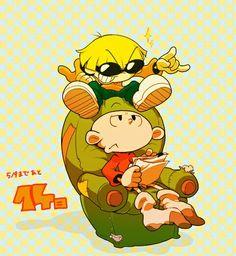 Numbuh 4 and Numbuh 1 - Caarton Nickelodeon Cartoons, Adult Cartoons, Old Cartoons, Cartoon Network Shows, Cartoon Shows, Childhood Tv Shows, Childhood Memories, Cartoon As Anime, Cartoon Art