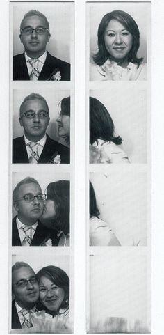 Amour au photomaton
