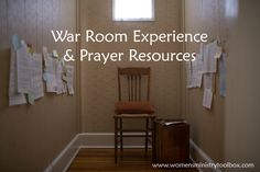 War Room Movie Experience and Prayer Resources - Use this movie as a launching point for your mentoring, prayer, or marriage ministry! Great list of prayer resources included! From Women's Ministry Toolbox.