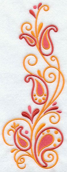 simple paisley - Google Search
