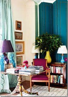 deep aqua curtains for master bedroom