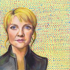 The last in my portrait series. Stargate, Mona Lisa, Portrait, Artwork, Painting, Work Of Art, Men Portrait, Painting Art, Portrait Illustration
