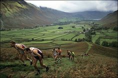 Fell race at Wasdale Shepherds' Meet and Show, Cumbria, England (Highly commended - Living the view) - Patrick Ward.