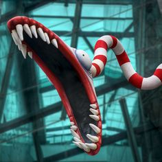 Tim Burton's Tentacle Monster