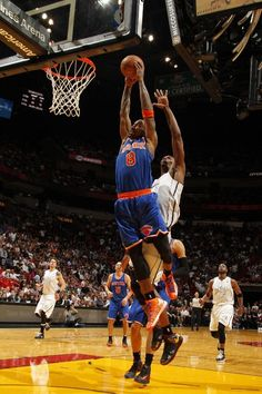 J.R. Smith #8 WITH THE DUNK