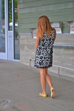 lace shift dress | fishbowl fashion